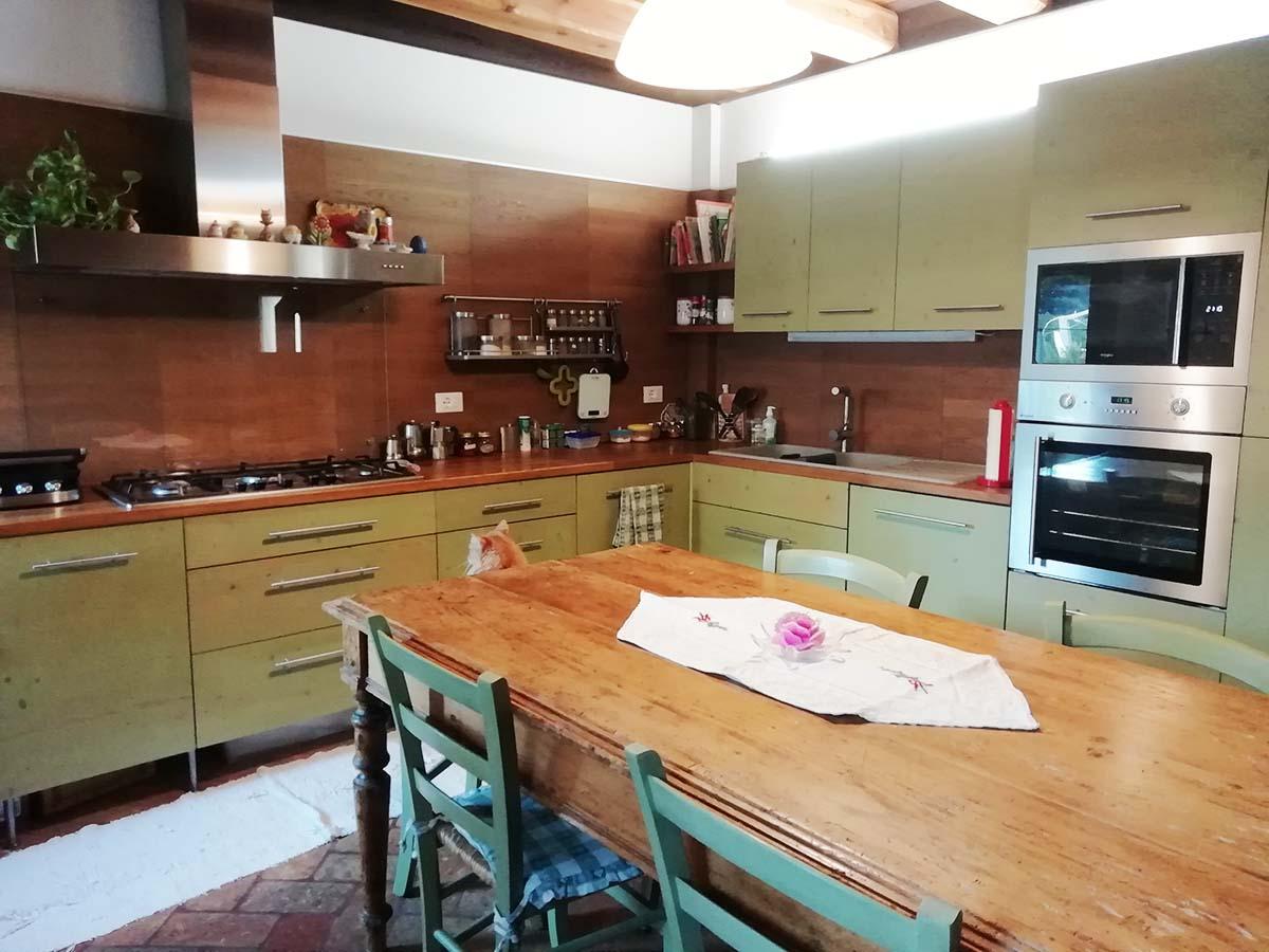 Falegnameria la Piave cucina verde